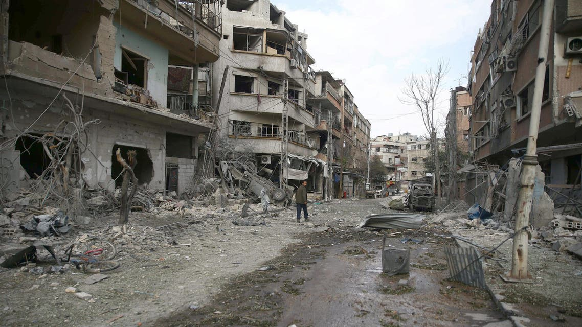 من الغوطة الشرقية