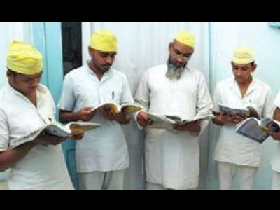 Inmates contribute to the government's monthly magazine. (Supplied)