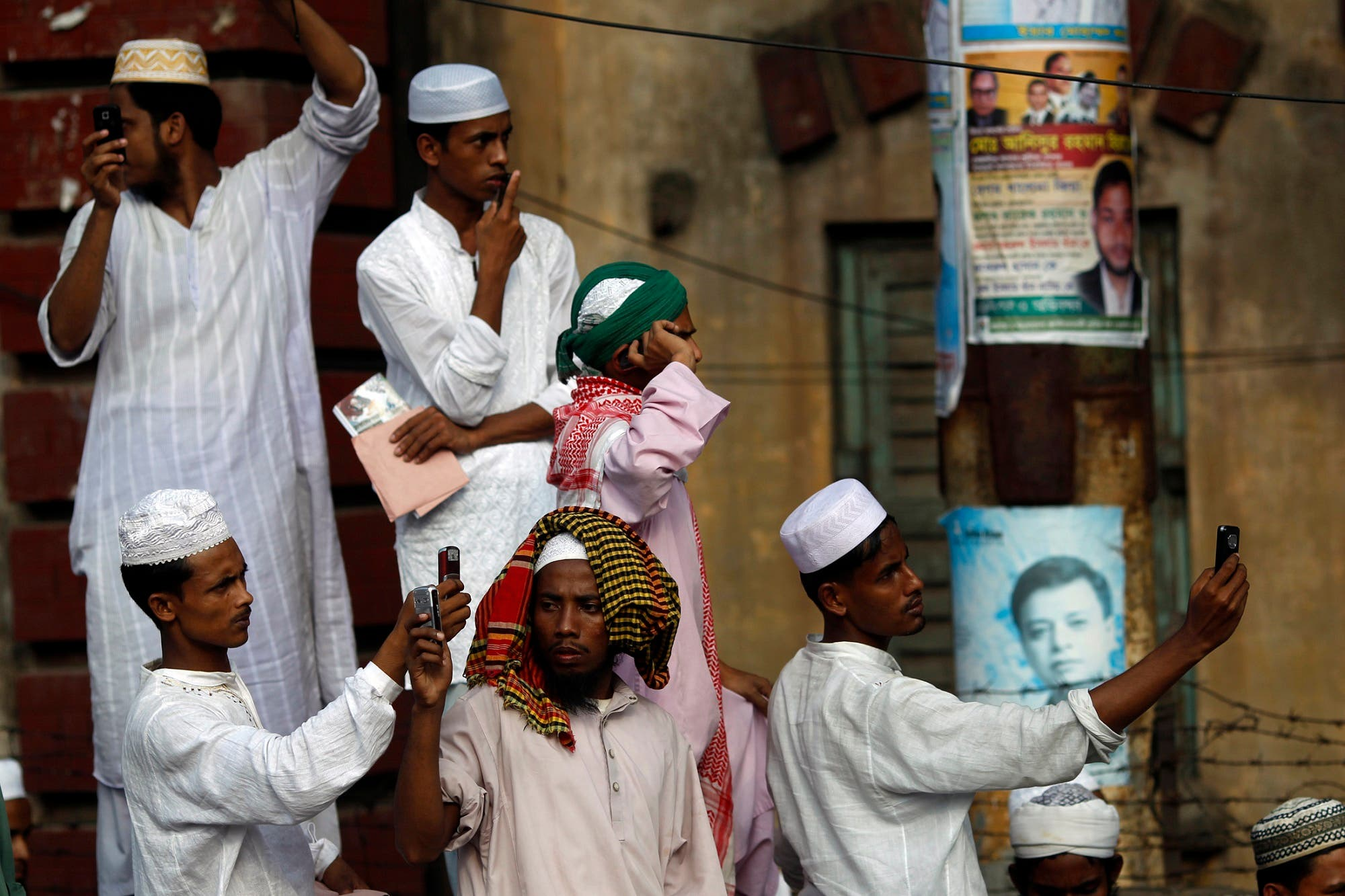 The mobile phones were seized during a search operation by the Madrasa authorities. (File photo: Reuters)