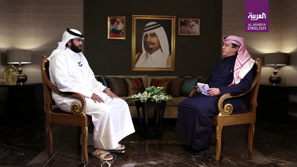 Sheikh Sultan bin Suhaim with Turki al-Dakhil