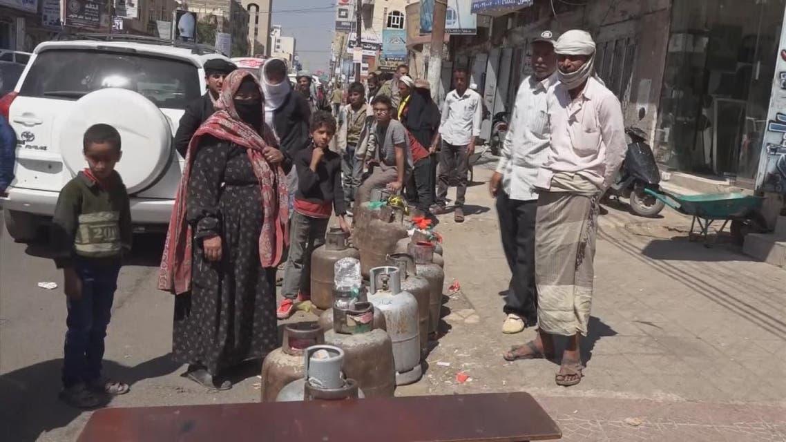 THUMBNAIL_ #ميليشيات_الحوثي تفتعل أزمة الوقود #اليمن