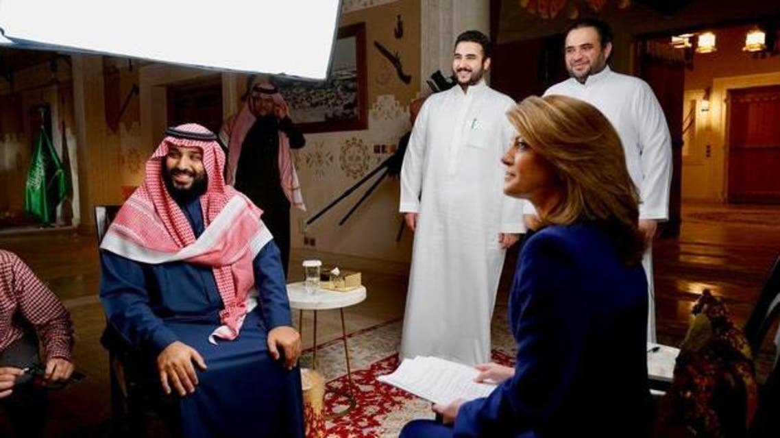 """O'Donnell's """"60 Minutes"""" conversation with the Saudi crown prince will be his first US television interview. (Photo courtesy: CBS)"""
