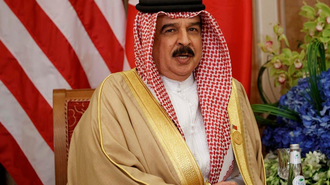 King hamad bahrain. (AP)