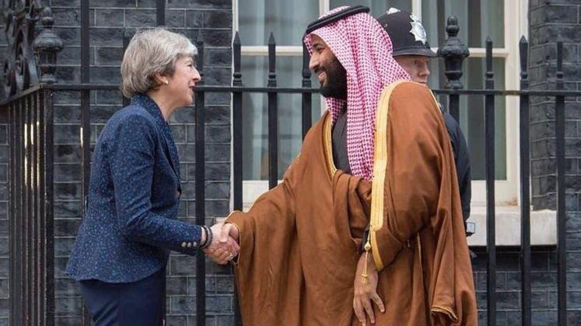 تيرزا ماي تستقبل محمد بن سلمان