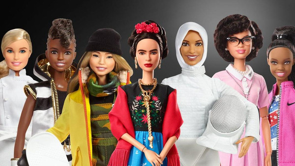 Barbie releases new dolls inspired by real life 'sheroes' to mark Women's Day