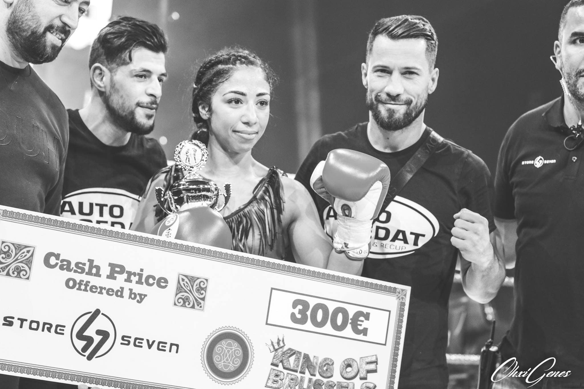 Belgian-Algerian Soumeya Sammoudi: Dance like a butterfly, sting like a bee
