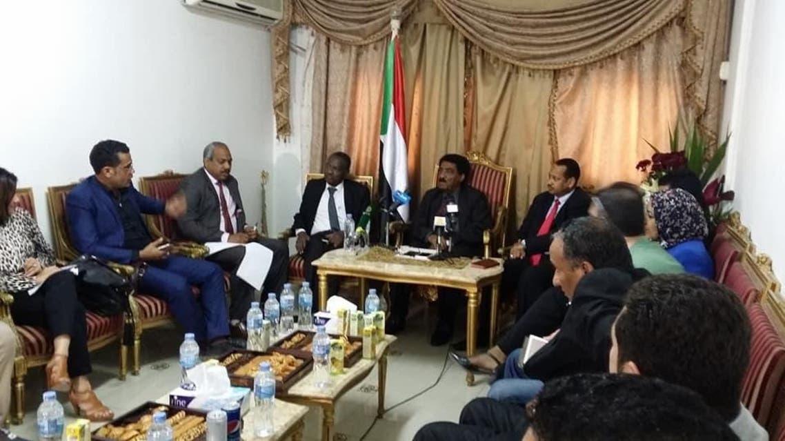 لقاء السفير السوداني بالقاهرة مع ممثلي وسائل الاعلام