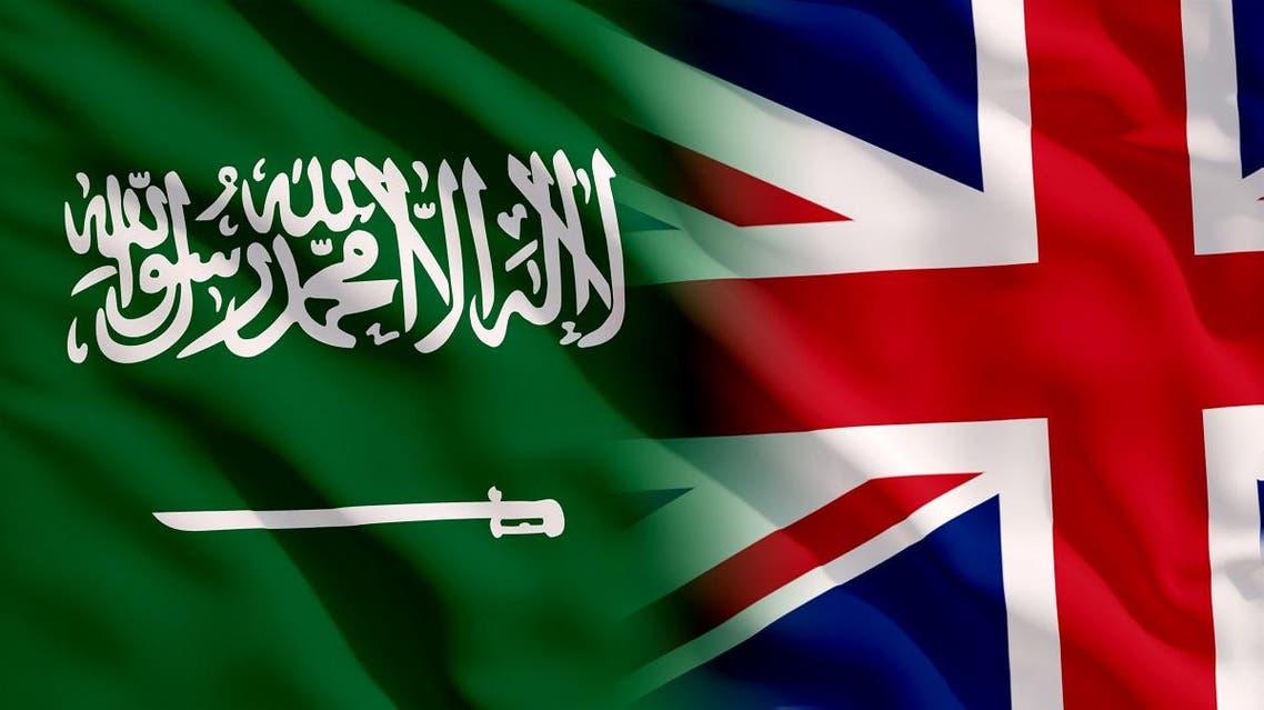 uk saudi flags shutterstock