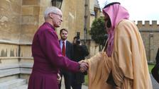 Saudi Crown Prince holds talks with UK's Archbishop of Canterbury