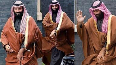 زيارة الأمير محمد بن سلمان إلى لندن في صور