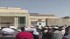 ایران میں معروف شیعہ عالم کی گرفتاری کے خلاف عراق میں احتجاجی مظاہرے