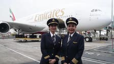 VIDEO: First Arab female to pilot world's biggest aircraft