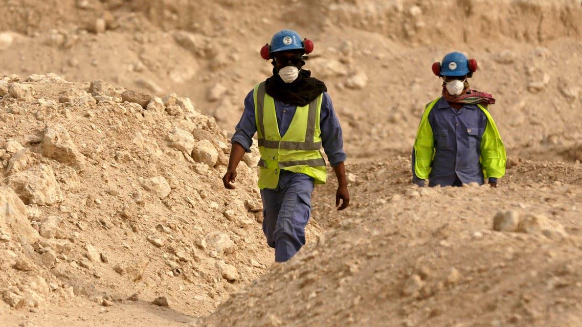 (AP) qatar workers