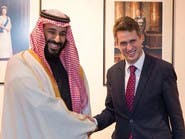 محمد بن سلمان يبحث مع وزير دفاع بريطانيا مكافحة الإرهاب