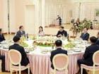 خلال اللقاء.. الزعيم الكوري الشمالي