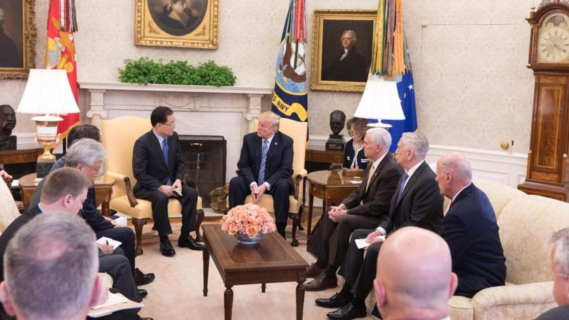 ترمب يلتقي مسؤولا من كوريا الجنوبية