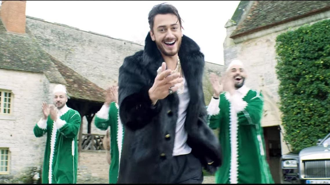 Saad lamjarred new song (Screengrab)