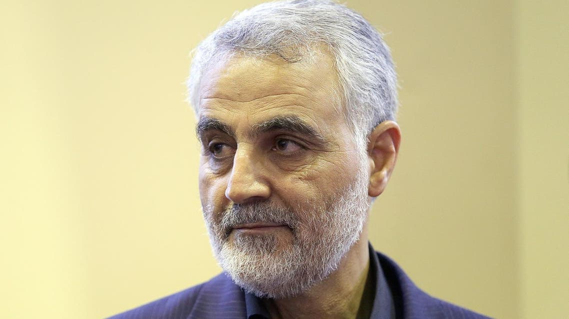 Qassem Soleimani was brought up in a poor peasant household. (AFP)