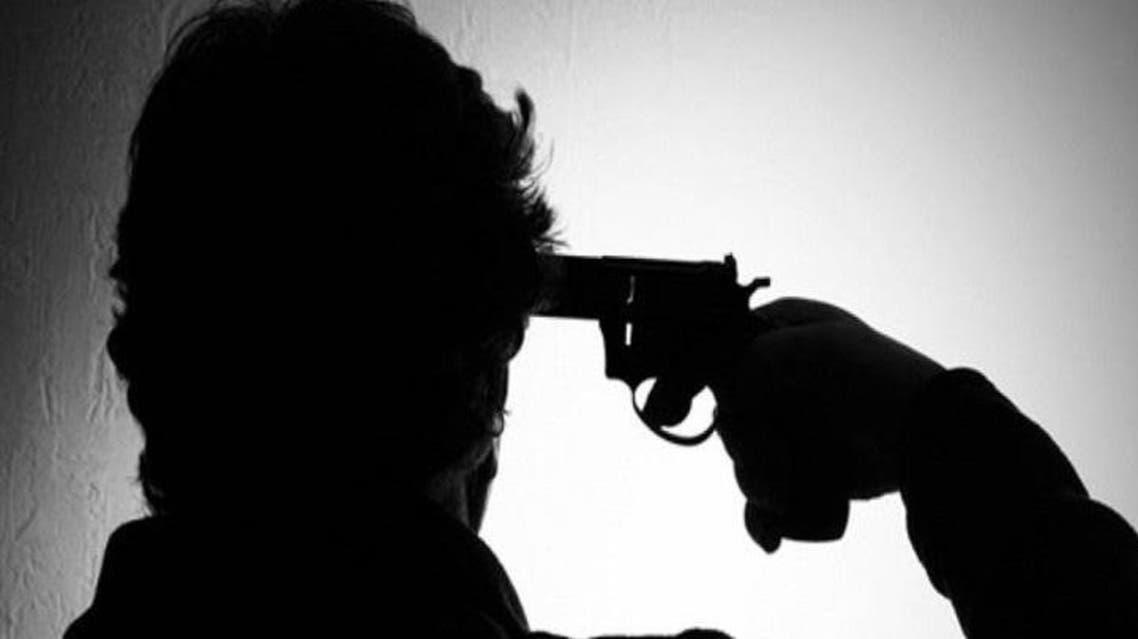 صورة - انتحار بالرصاص