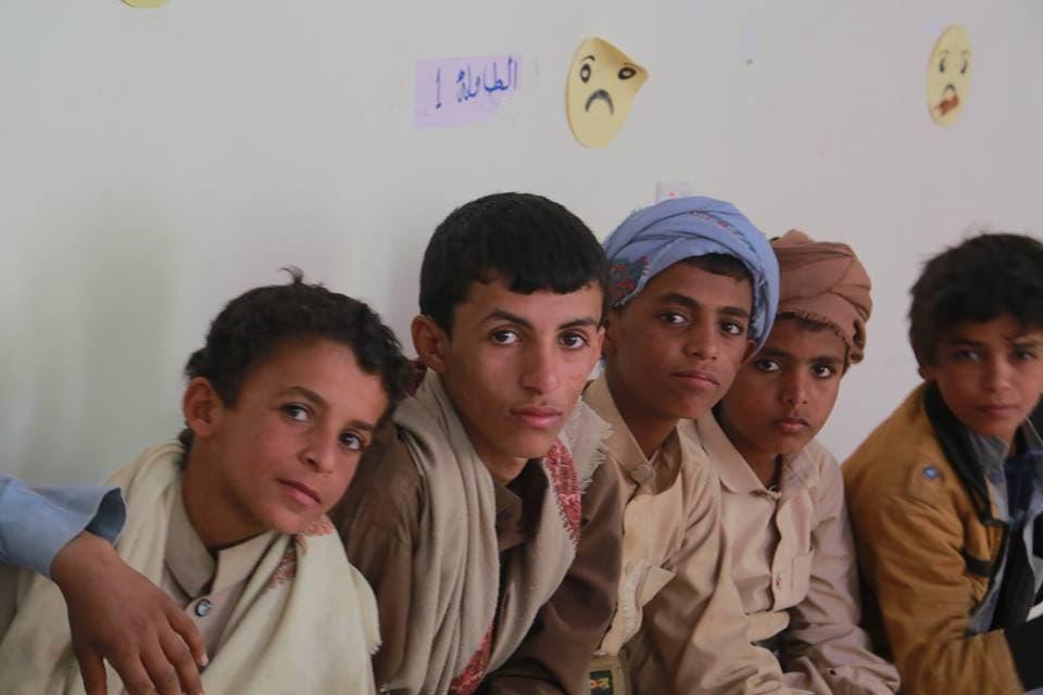 دفعة جديدة من أطفال جندهم الحوثيون في مشروع إعادة التأهيل