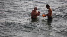 PHOTOS: Russian tourist delivers baby in Red Sea during Egypt holiday