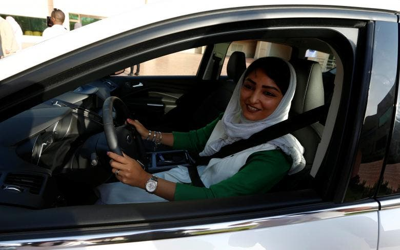Saudi women shifting gears and learning to drive