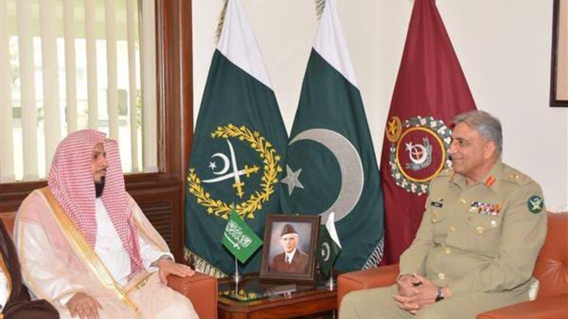 imam harm makki with COAS Pakistan