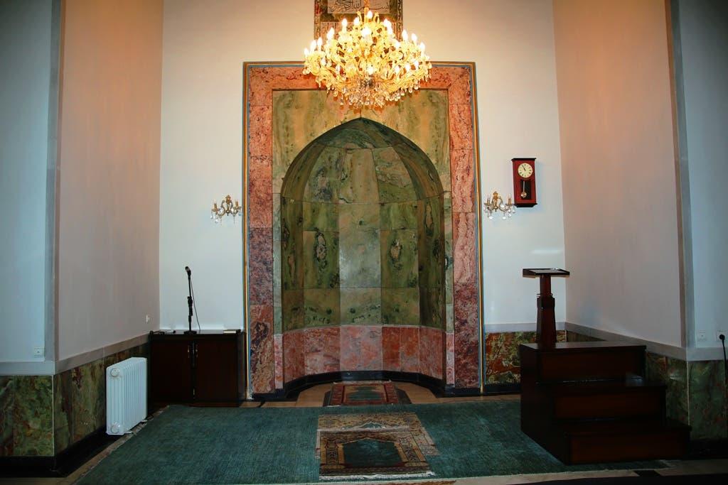 مسجد ارگ ریاست جمهوری در یک وقت ظرفیت گنجایش 250 تن نمازگزار را دارد