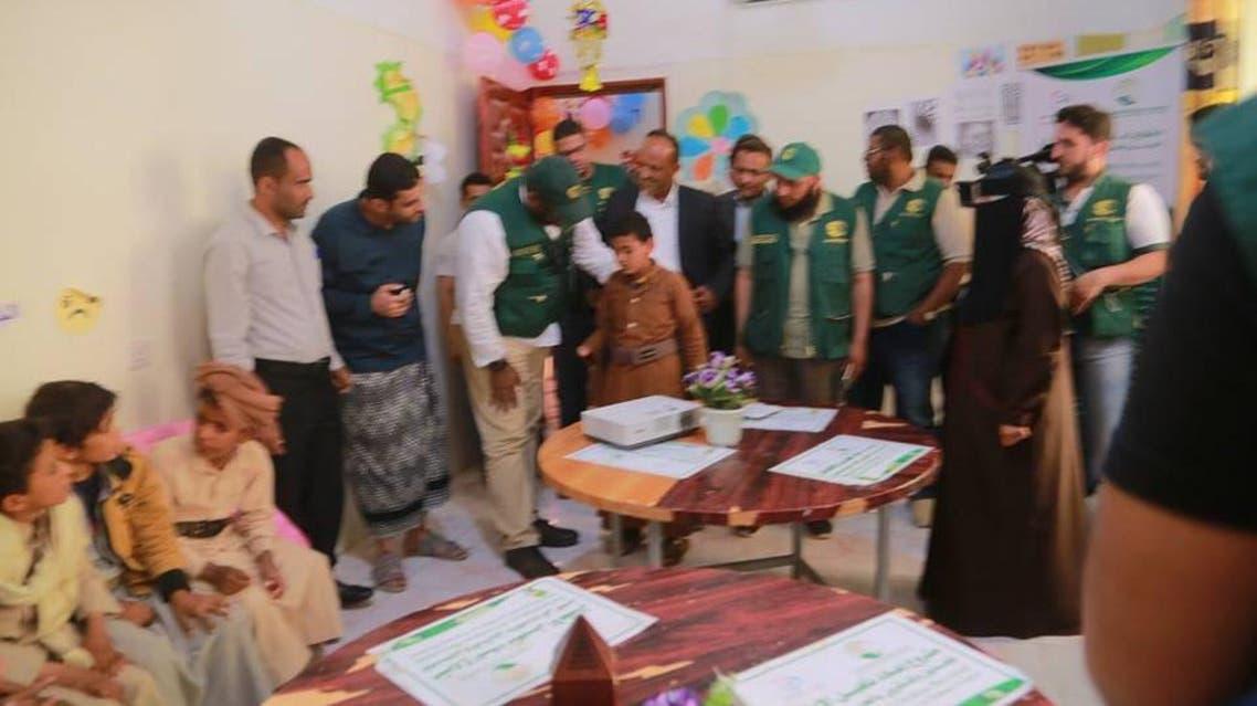 مدير الدعم المجتمعي في مركز الملك سلمان يطلع على بدء تأهيل دفعة جديد من أطفال الحرب في اليمن