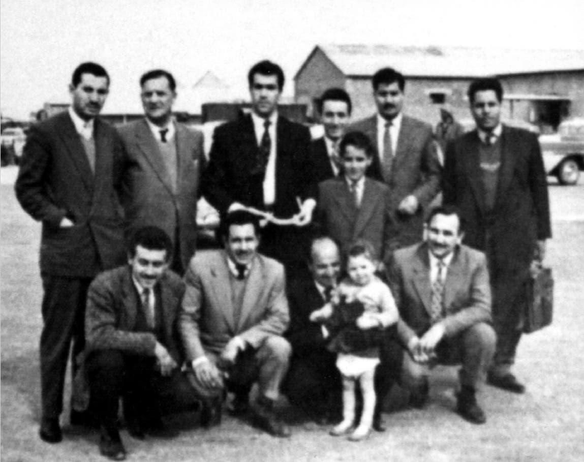 یاسر عرفات کی کویت میں 1957ء میں تصویر۔اس وقت ان کی عمر28 سال تھی۔