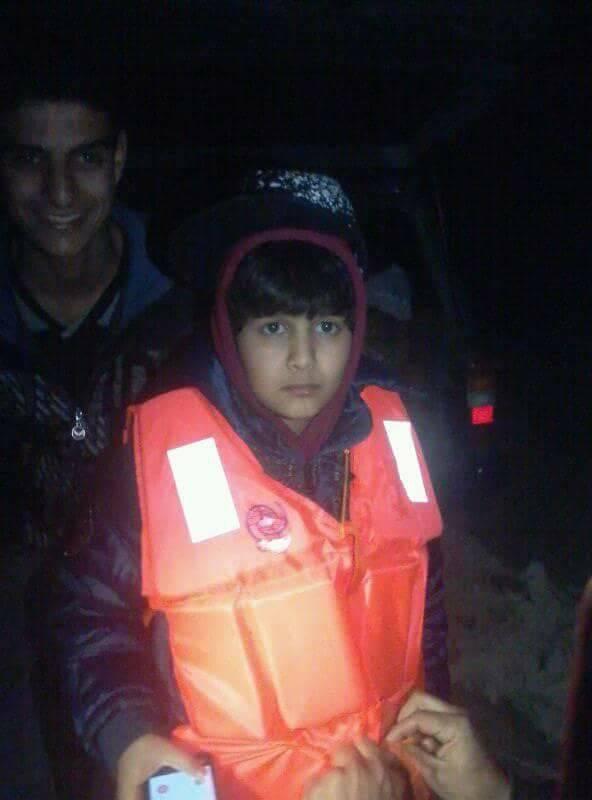 الطفل الليبي علاء شعبان حريبي