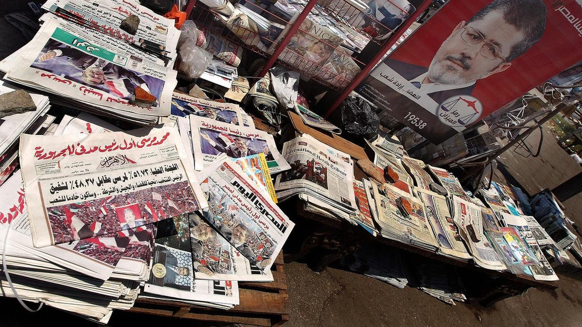 Two weeks ahead of elections in Egypt, the media have been under close scrutiny. (AFP)