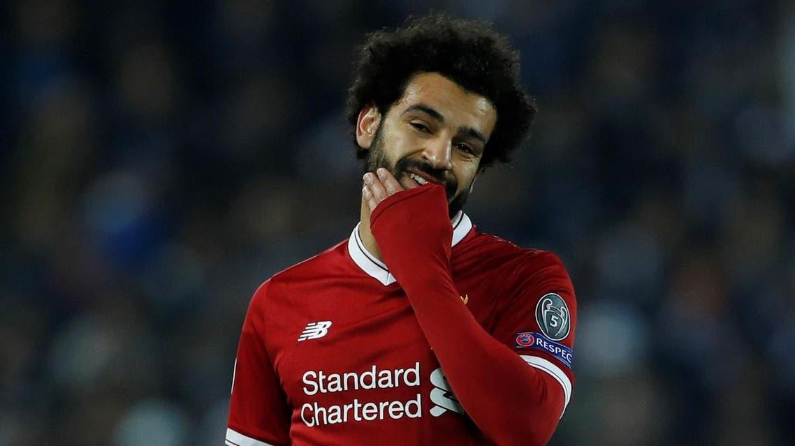Mohamed Salah is the Premier League's joint-top scorer. (Reuters)