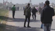 شاهد لحظة تفجير موكب رئيس الوزراء الفلسطيني في غزة