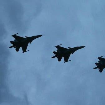 مقاتلات روسية تقصف مواقع فلول داعشفي البادية بسوريا