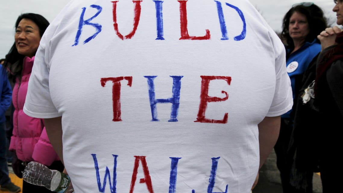 trump mexico wall. (Reuters)