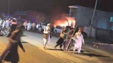رائیونڈ میں دھماکا، 4 پولیس اہلکاروں سمیت 06 افراد جاں بحق