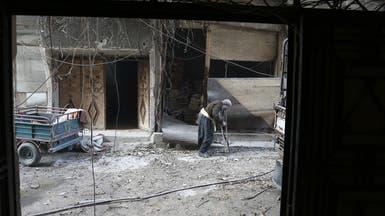 نحو 20 ألف مدني يفرّون من جنوب الغوطة