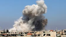Syrian army drops barrel bombs in southwest assault