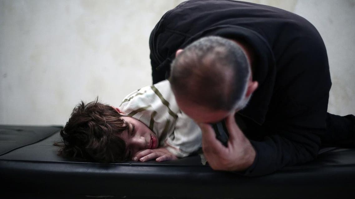 Medical care in Syria has been disintegrated due to the ongoing conflict that erupted in March 2011. (AFP)