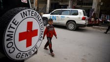 Red Cross aid convoy enters Syria's eastern Ghouta