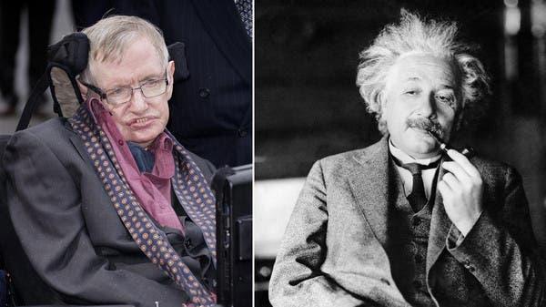 On the death and birth of two geniuses: Hawking and Einstein   Al Arabiya  English
