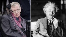 On the death and birth of two geniuses: Hawking and Einstein