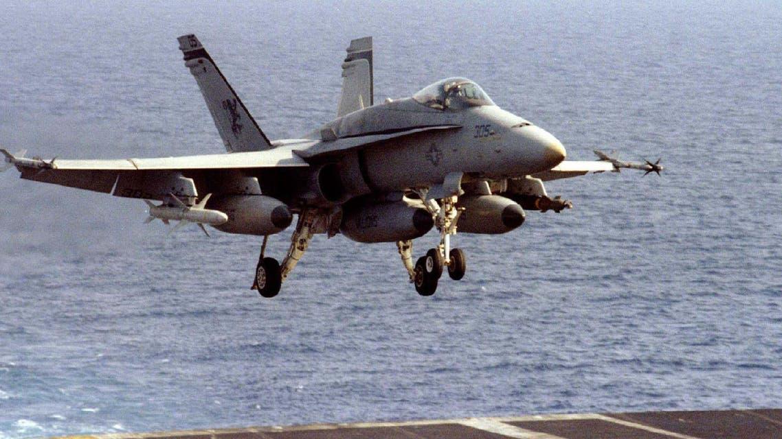 us navy f-18 fighter jet. (Reuters)
