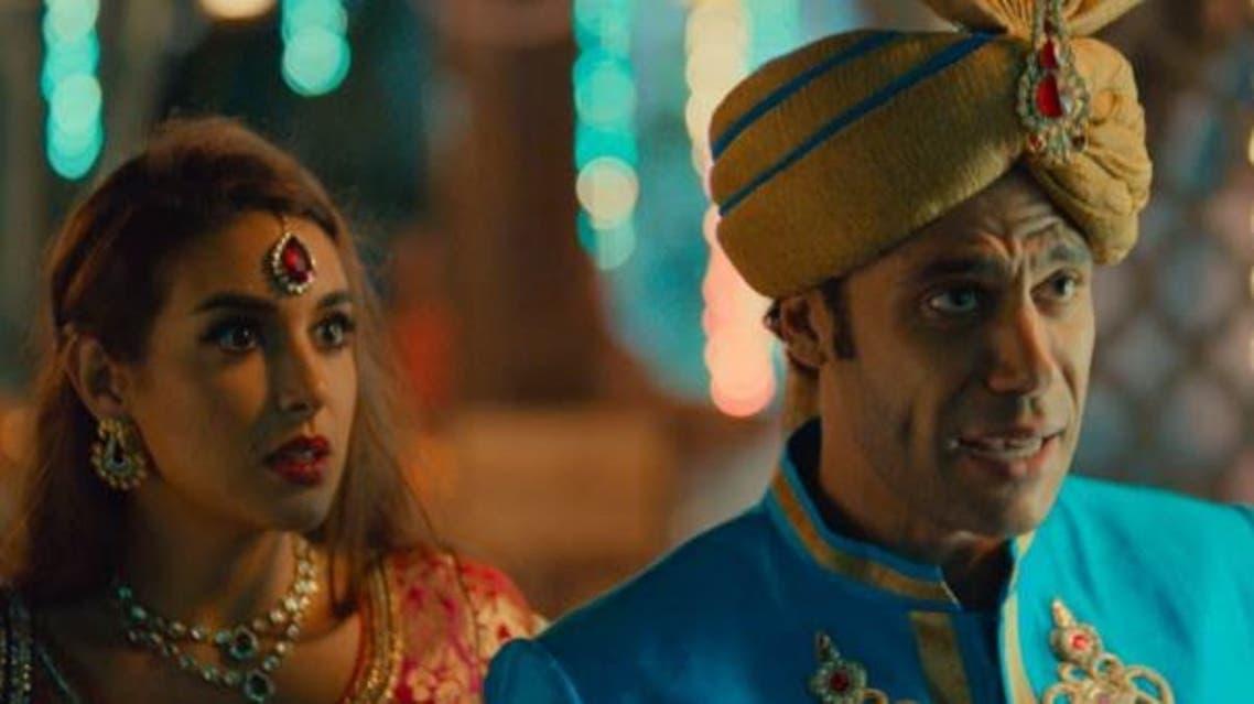 مشهد من فيلم جحيم في الهند