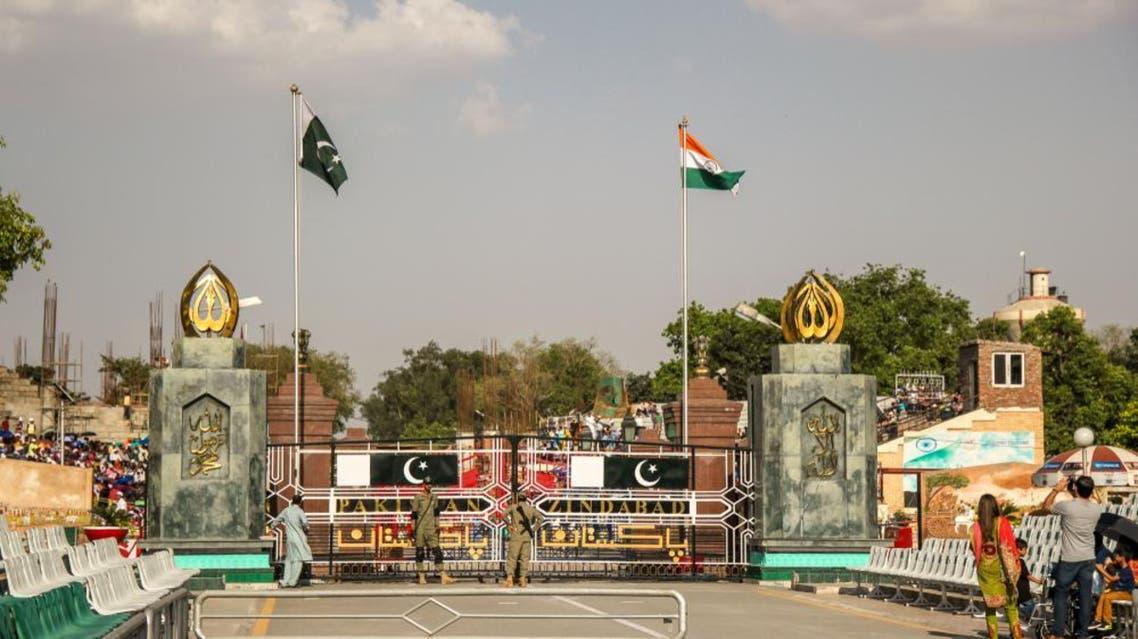 The Indian-Pakistani border. Pakistani Rangers. Wagah Border Pakistan, Wagah 04.23.2013 (Shutterstock)
