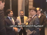 دبلوماسي قطري في موقف محرج بسبب موقف بلاده من الإخوان