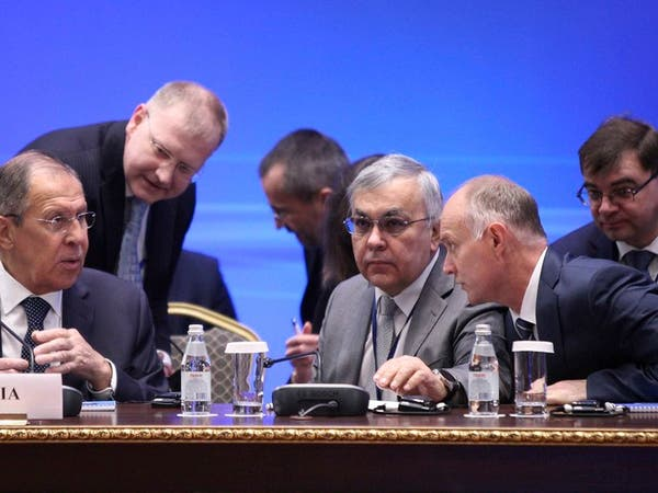 لافروف: تهديد واشنطن بقصف دمشق غير مقبول