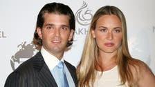 Trump daughter-in-law files for divorce