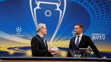 أبطال أوروبا: برشلونة يواجه روما ويوفنتوس يصطدم بالريال